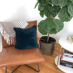 Other - Super soft midnight blue pillow cover